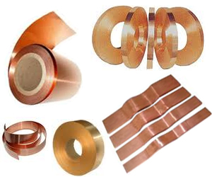 Manufacturese of copper strip